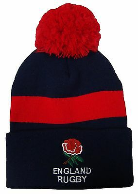 England Rugby Bobble Hat - Made in UK
