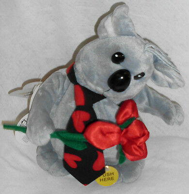 "Animated Valentine Kuala Bear 2000 11"" Tall Dances Sings 'What I Like About You'"