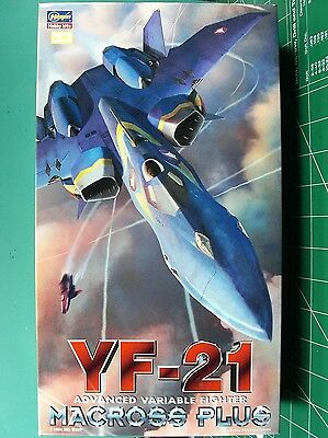 Macross Plus*yf-21 A.v.f.*hasegawa*1/72*nice Kit*unstarted*sealed Inside*l@@k
