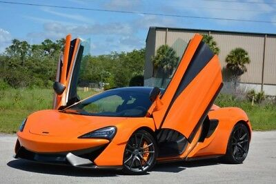2017 McLaren 570 Base Coupe 2-Door 2017 570S - RARE TRACK PACK - VENTURA ORANGE - LOADED WITH OPTIONS - FLORIDA
