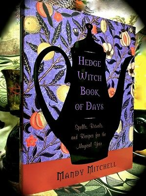 Hedge Witch Book Of Days: Spells, Rituals For The Magical Year  2014 Sc ~ Wiccan