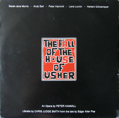 PETER HAMMILL FALL OF THE HOUSE OF USHER Some Bizarre 2LP Lene Lovich Andy Bell