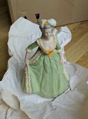 Franklin Porcelain Marie Antoinette - hand painted, limited edition figurine