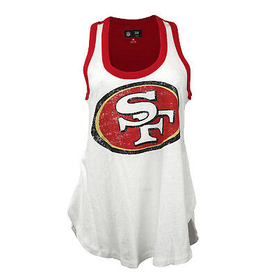 GIII 4her Women's NFL San Francisco 49ers White Tank Top