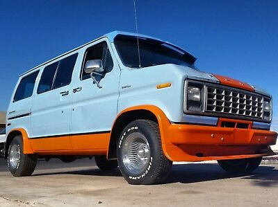 1978 Ford E-Series Van Rust Free 70s Custom One of a kind 116k Low Miles Ford E-100 Custom Shorty ClubWagon 300-6 Manual 4-speed Overdrive