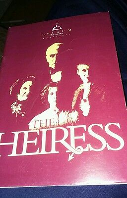 Theatre programme. Lyceum Theatre. Sheffield. The Heiress. 1992. Frank Finlay.