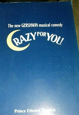 Theatre Programme. Crazy For You. 1993. Prince Edward Theatre.