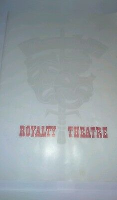 Theatre programme.  Royalty Theatre. The Miracle Worker.  1961. Helen Keller.