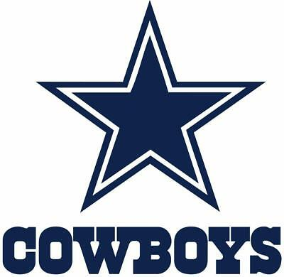 DALLAS COWBOYS Decal - Car Window Vinyl Wall Cornhole Sticker - Customize