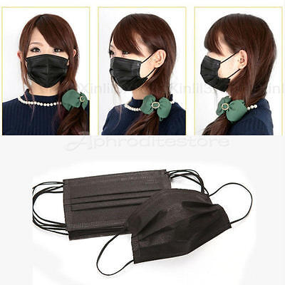 5 X Unisex  Face Mouth Mask Anti-dust  Mouth-MuffleWarm IN BLACK WHITE BLUE UK