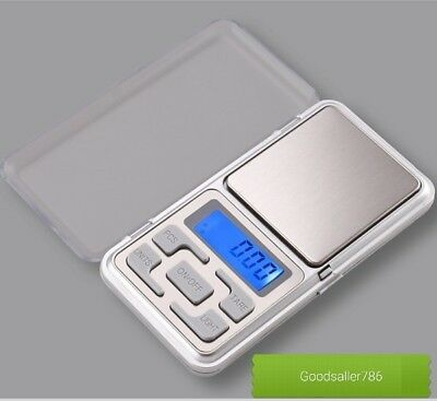 0.01g-200g Digital Pocket Weight Mini Scales Gold Kitchen Jewellery Herbs BH