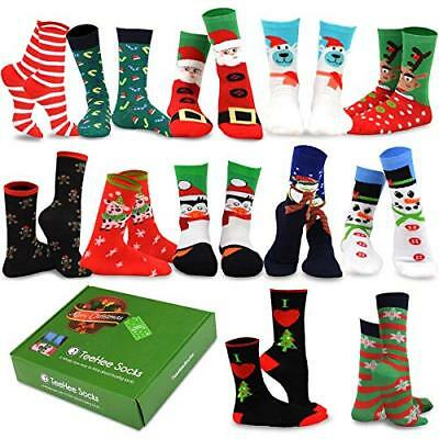 bd447c74923 TEEHEE CHRISTMAS HOLIDAY 12-Pack Gift Socks for Women with Gift Box ...