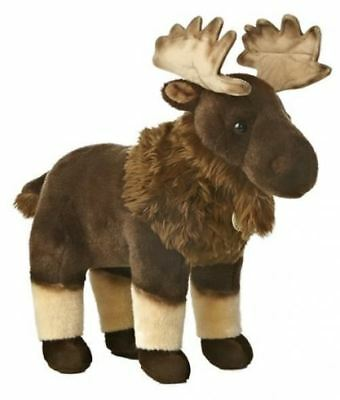 "Moose 14.5"" Miyoni Stuffed Animal"