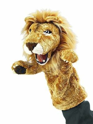 "LION STAGE PUPPET # 2562 ~ 13""Tall ~  Free Ship/USA ~  Folkmanis Puppets"