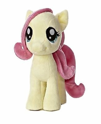 "Fluttershy 10"" My Little Pony with Cartoon Sparkle Hair"