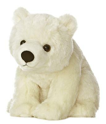 FBAS-AUROFBA19268-Aurora World Destination Nation Polar Bear Plush, 10""