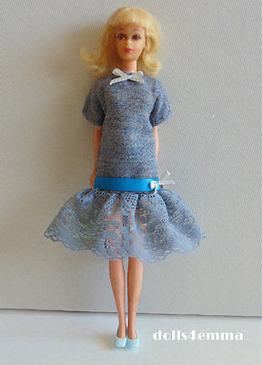 Antique Style DRESS handmade for Francie & Casey dolls clothes Fashion NO DOLL
