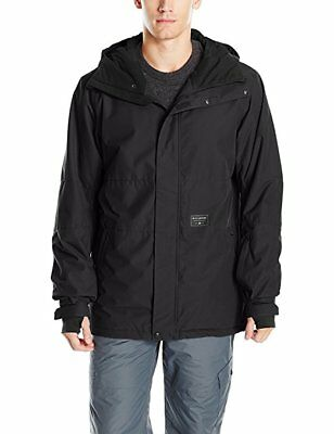 Billabong Men's Legacy Plain Snow Jacket  :M  RRP $299