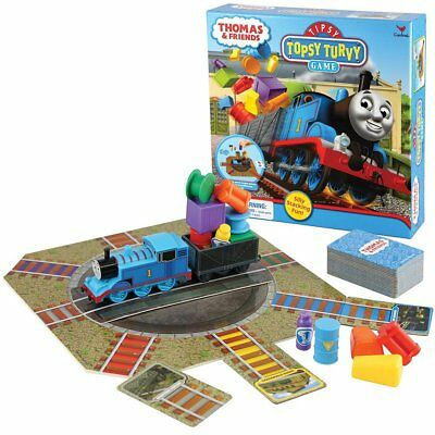 1 X Thomas Train And Friends Tipsy Topsy Turvy Board Game - Silly Stacking Fun