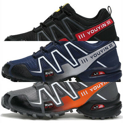 Men's Hiking Speedcross 3 Boots Athletic Running Breathable Outdoor Shoes US12