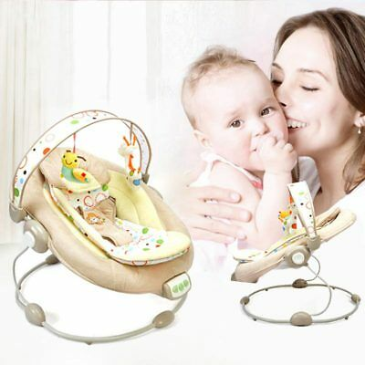 Baby Swing Bouncer Chair Cradle Rocker Seat Bouncy Cradling With Music