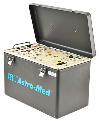 Astro-Med DAQ Portable 6-Slot/Bay Data Acquisition System +Modules/Plug-Ins