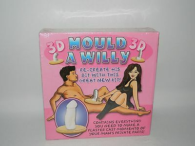 3D Mould A Willy Kit Novelty - Brand New & Sealed - Re-Create His Bit