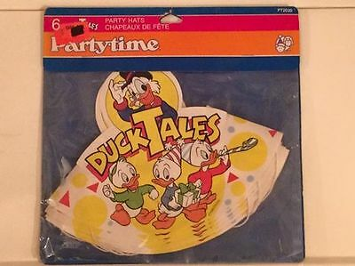 Disney DuckTales Party Hats 1986 New Old Stock