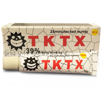 1x TKTX 39% Strong Numbing Tattoo Body Anesthetic Fast Skin Numb Cream UK STOCK