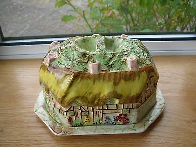 SHAKESPEARE WARE - ANN HATHAWAY'S COTTAGE - Lidded cheese dish