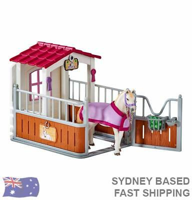 Schleich Horse Club - Horse Stall With Luistano Mare 42368