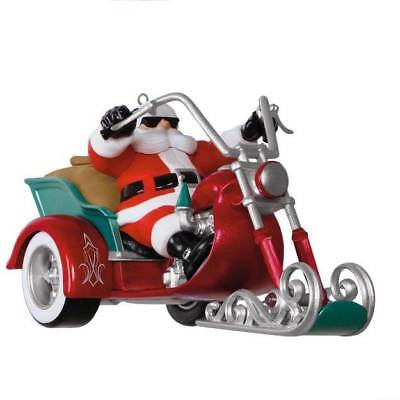 Hallmark Keepsake Ornament LEADER OF THE PACK MOTORCYCLE WITH SOUND 2017