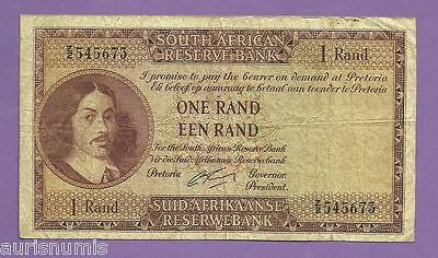 [AN] South Africa 1 Rand 1962 P103b Replacement Fine+