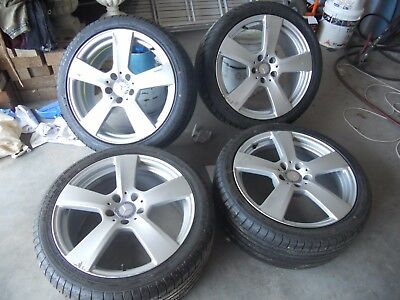 Mercedes AMG 18'' Staggered Alloy Wheels and New Tyres