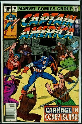 Marvel Comics CAPTAIN AMERICA #240 VFN 8.0