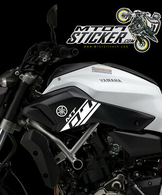 2014-2017 YAMAHA [MT-07] AIR INTAKE STICKERS KIT 10 colors available [M701]