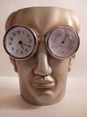 Museum Of Modern Life TMS Punctuality The Thief Of Time Oscar Wilde Clock Temp
