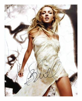 Britney Spears Signed Autographed A4 Pp Photo Poster 11
