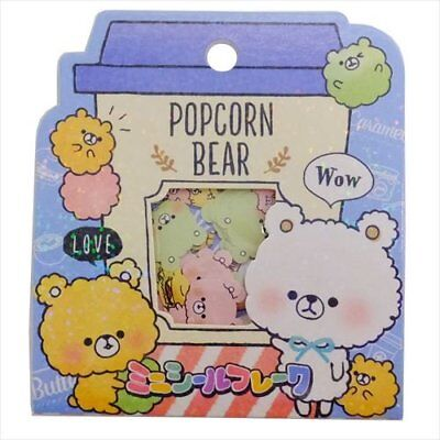 Crux Popcorn Bear   42 pcs NEW  flake seal