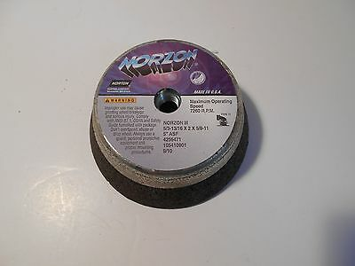 NORZON Norton Cup Cupped Grinding Wheel 5/3-13/16 X 2 X 5/8-11 (( 5 WHEELS ))