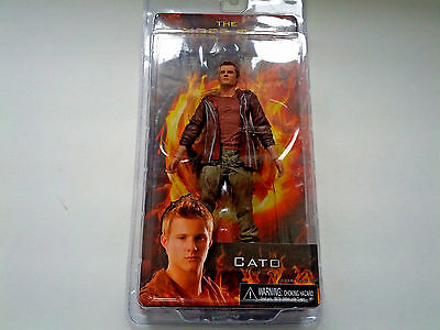 the hunger games  movie book Cato figure doll 2012 NOS reel toys