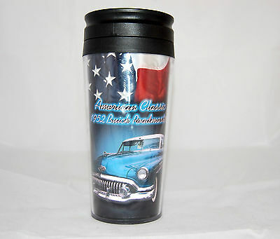 Travel Cup 1952 Buick Roadmaster Classic Car Coffee Tumbler