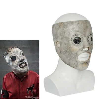 Slipknot Corey Taylor Cosplay Costumes Mask Latex Halloween Masks for Adult