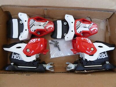 NEW boxed Head Mojo 12 Freeride Ski Bindings with 97mm Brakes