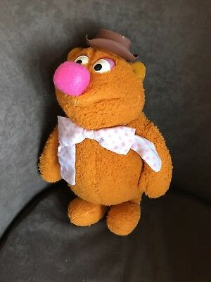 1976 Fisher Price Jim Henson Muppet Doll Number 851 Fozzie Bear soft toy