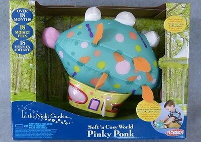 NIB Soft 'n Cosy World ~ Pinky Ponk ~ In The Night Garden BBC ~ Free Ship!