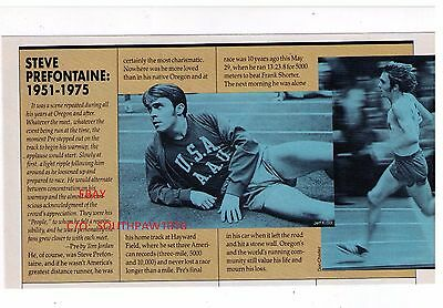 """1985 Steve Prefontaine 1951-1975  """"10 Years After His Death"""" Sports Article"""