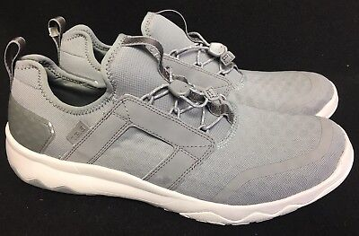 ef287ae7035d Teva Arrowood Swift Lace Sneaker 1017172 Mesh Leather Sizes Shoes Gray Grey  12