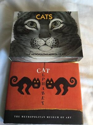 Cats (24 Note Cards) & Cat Alphabet (Book) from The Metropolitan Museum of Art