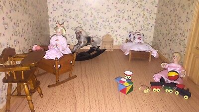 Doll House Job Lot furniture and accessories